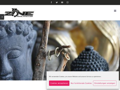 ZONE - Piercing, Tattoo & -Laserentfernung