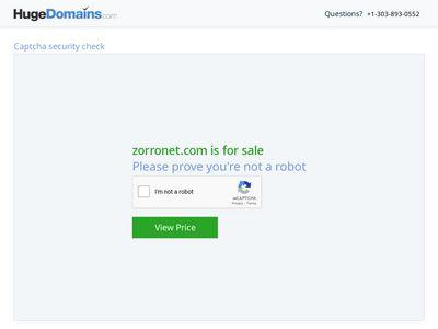ZorroNet Webdesign