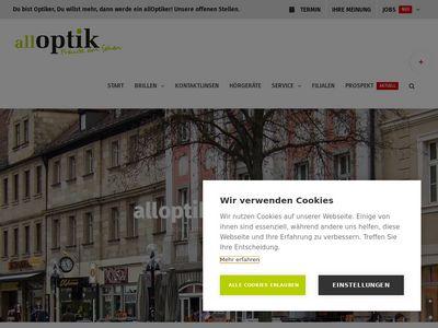 Alloptik Bayreuth Augenoptik