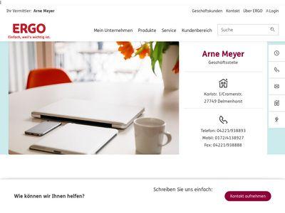 Arne Meyer - ERGO Versicherung