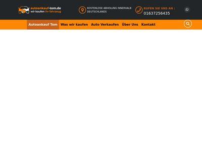 Autoankauf Tom Dein Autoankauf für ganz Deutschland