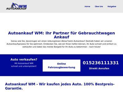 Autoankauf WM