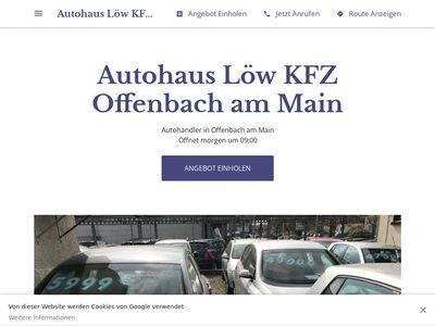 Autohaus Löw KFZ Offenbach am Main