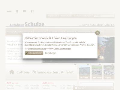 Autohaus Schulze GmbH Cottbus
