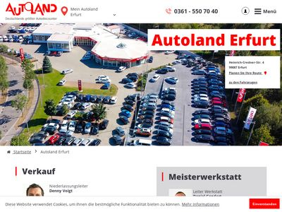 Autoland AG Niederlassung Erfurt