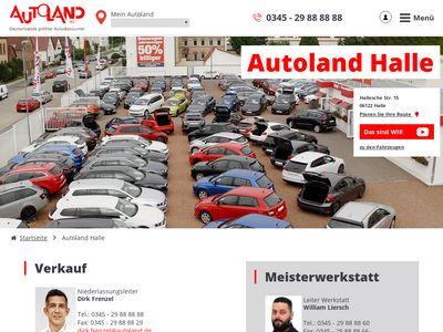 Autoland Halle