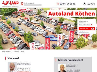 Autoland Niederlassung