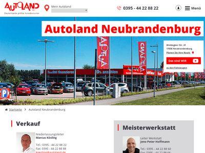 Autoland Neubrandenburg