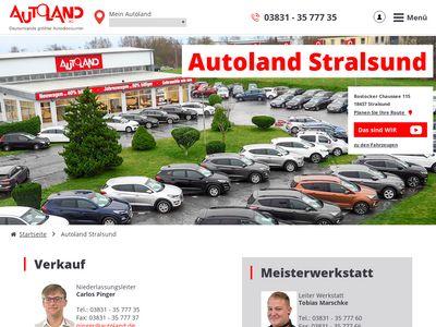 Autoland AG Niederlassung Stral