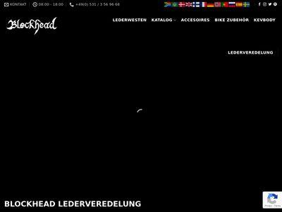 BLOCKHEAD Lederveredelung