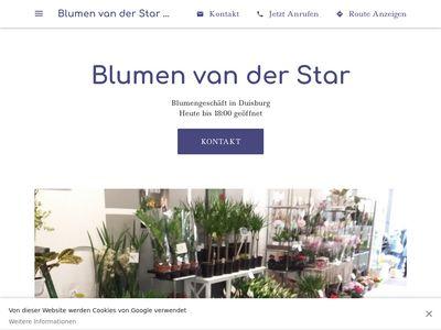 Blumen van der Star UG (haftungsbeschränkt)