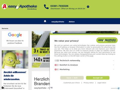 EasyApotheke Brandenburg