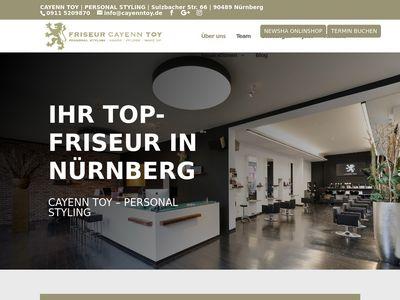 Friseur Cayenn Toy