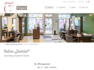 Elegant Gesellschaft für Friseur