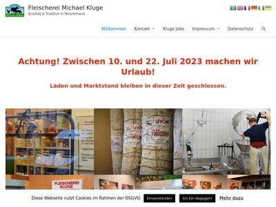 Fleischerei Michael Kluge in Wilmersdorf