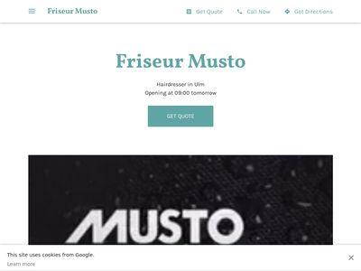 Friseur Musto