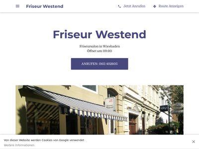 Friseur Westend