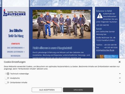 Jens Gelitschke Sanitär Heizung Gas