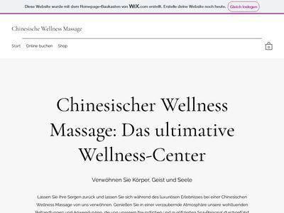 Traditionelle Chinesische Massage
