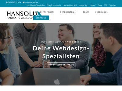 HANSOLU Hanseatic Webdesign