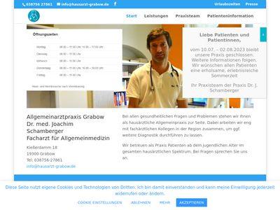 Dr. Joachim Schamberger Arzt