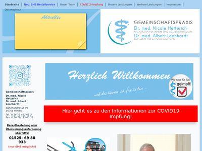 Gemeinschaftspraxis Dr. med. Nicole Hetterich