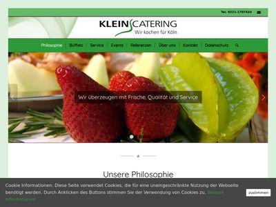 Kleins Catering - Wir Kochen für Köln