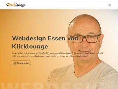 Klicklounge Webdesign