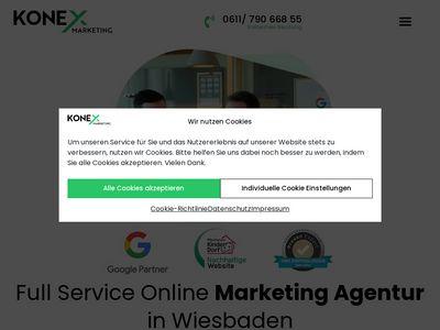 Marketing und Webdesign aus Wiesbaden - KONEX Marketing