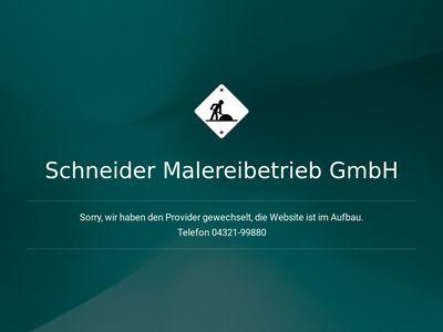 Schneider Malereibetrieb GmbH