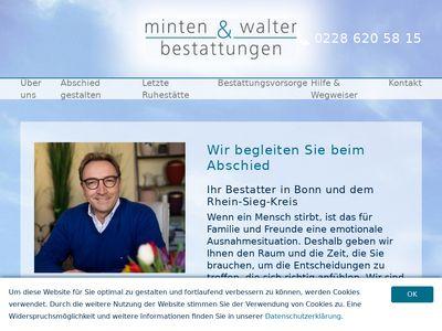 Bestattungen Minten & Walter GbR Bonn