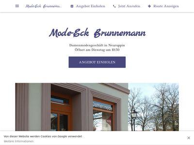 MODE-ECK Brunnemann