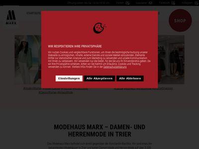 Modehaus Marx GmbH & Co. KG
