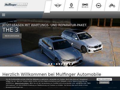 Autohaus Walter Mulfinger GmbH Ba