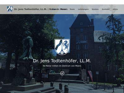Notar Dr. Jens Todtenhöfer, LL.M.