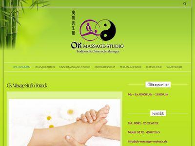 Ok Massage-Studio Rostock
