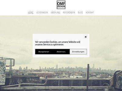 Webdesigner Hamburg Freelancer - OMF Design