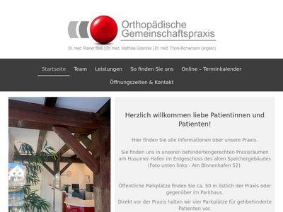 Dr. med. Rainer Bläss