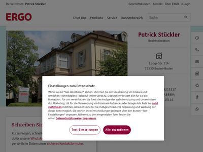 ERGO Versicherung Patrick Stückler
