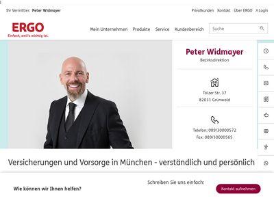 Peter Widmayer - ERGO Versicherung
