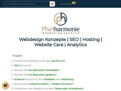 Pixelharmonie Webdesign Agentur
