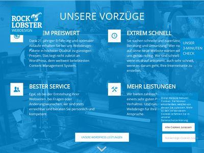 Rock Lobster Webdesign