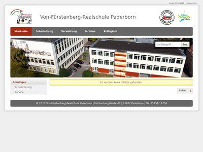 Realschule Von-Fürstenberg