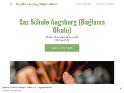 Saz Schule Augsburg