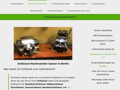 Schlüssel nachmachen berlin