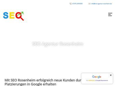 SEO Agentur Rosenheim