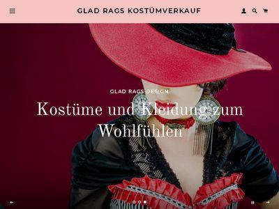 Glad Rags Kostümverkauf