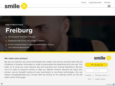 Smile X Fitnessstudio Freiburg