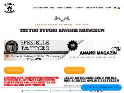 Tattoo Anansi
