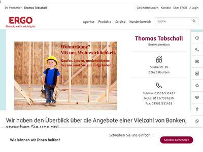 Thomas Tobschall - ERGO Versicherung
